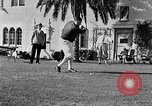 Image of Babe Ruth playing golf Saint Petersburg Florida USA, 1930, second 43 stock footage video 65675050771