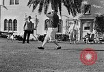 Image of Babe Ruth playing golf Saint Petersburg Florida USA, 1930, second 44 stock footage video 65675050771