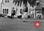 Image of Babe Ruth playing golf Saint Petersburg Florida USA, 1930, second 45 stock footage video 65675050771