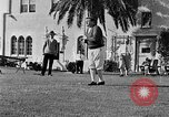 Image of Babe Ruth playing golf Saint Petersburg Florida USA, 1930, second 46 stock footage video 65675050771