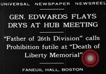 Image of Boston rally against alcohol prohibition Boston Massachusetts USA, 1930, second 2 stock footage video 65675050773