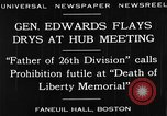 Image of Boston rally against alcohol prohibition Boston Massachusetts USA, 1930, second 3 stock footage video 65675050773