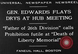 Image of Boston rally against alcohol prohibition Boston Massachusetts USA, 1930, second 4 stock footage video 65675050773