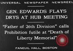 Image of Boston rally against alcohol prohibition Boston Massachusetts USA, 1930, second 5 stock footage video 65675050773