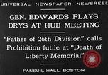 Image of Boston rally against alcohol prohibition Boston Massachusetts USA, 1930, second 6 stock footage video 65675050773