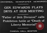 Image of Boston rally against alcohol prohibition Boston Massachusetts USA, 1930, second 8 stock footage video 65675050773