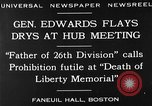 Image of Boston rally against alcohol prohibition Boston Massachusetts USA, 1930, second 10 stock footage video 65675050773