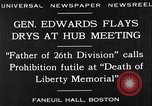 Image of Boston rally against alcohol prohibition Boston Massachusetts USA, 1930, second 12 stock footage video 65675050773
