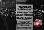 Image of Boston rally against alcohol prohibition Boston Massachusetts USA, 1930, second 31 stock footage video 65675050773