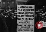 Image of Boston rally against alcohol prohibition Boston Massachusetts USA, 1930, second 32 stock footage video 65675050773