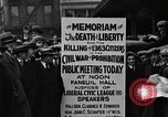 Image of Boston rally against alcohol prohibition Boston Massachusetts USA, 1930, second 33 stock footage video 65675050773