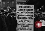Image of Boston rally against alcohol prohibition Boston Massachusetts USA, 1930, second 35 stock footage video 65675050773
