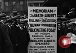 Image of Boston rally against alcohol prohibition Boston Massachusetts USA, 1930, second 36 stock footage video 65675050773