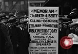 Image of Boston rally against alcohol prohibition Boston Massachusetts USA, 1930, second 37 stock footage video 65675050773