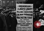 Image of Boston rally against alcohol prohibition Boston Massachusetts USA, 1930, second 38 stock footage video 65675050773