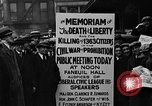 Image of Boston rally against alcohol prohibition Boston Massachusetts USA, 1930, second 40 stock footage video 65675050773