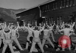 Image of Japanese high school boys train with soldiers Japan, 1942, second 29 stock footage video 65675050776