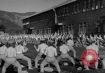 Image of Japanese high school boys train with soldiers Japan, 1942, second 31 stock footage video 65675050776