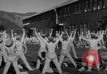 Image of Japanese high school boys train with soldiers Japan, 1942, second 32 stock footage video 65675050776