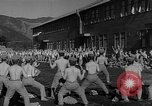 Image of Japanese high school boys train with soldiers Japan, 1942, second 34 stock footage video 65675050776