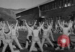 Image of Japanese high school boys train with soldiers Japan, 1942, second 35 stock footage video 65675050776