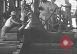 Image of Filipino men working under Japanese occupation Manila Philippines, 1942, second 27 stock footage video 65675050780
