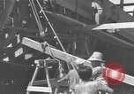 Image of Filipino men working under Japanese occupation Manila Philippines, 1942, second 44 stock footage video 65675050780