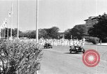Image of Japanese victory march Manila Philippines, 1942, second 28 stock footage video 65675050783