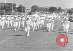 Image of Japanese victory march Manila Philippines, 1942, second 30 stock footage video 65675050783