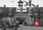 Image of Santo Tomas concentration camp Manila Philippines, 1945, second 22 stock footage video 65675050792