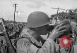 Image of Santo Tomas concentration camp Manila Philippines, 1945, second 38 stock footage video 65675050798