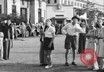 Image of Santo Tomas concentration camp Manila Philippines, 1945, second 18 stock footage video 65675050799