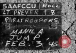 Image of paratroopers Philippines, 1945, second 4 stock footage video 65675050805