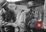 Image of paratroop infantrymen Philippines, 1945, second 10 stock footage video 65675050806