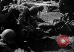 Image of paratroop infantrymen Philippines, 1945, second 21 stock footage video 65675050806