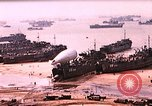 Image of establishment of beachhead Normandy France, 1944, second 1 stock footage video 65675050823