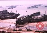 Image of establishment of beachhead Normandy France, 1944, second 2 stock footage video 65675050823