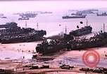Image of establishment of beachhead Normandy France, 1944, second 4 stock footage video 65675050823
