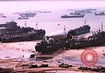 Image of establishment of beachhead Normandy France, 1944, second 5 stock footage video 65675050823
