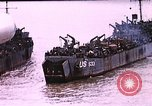 Image of establishment of beachhead Normandy France, 1944, second 6 stock footage video 65675050823