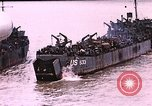 Image of establishment of beachhead Normandy France, 1944, second 9 stock footage video 65675050823