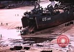 Image of establishment of beachhead Normandy France, 1944, second 12 stock footage video 65675050823