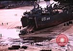 Image of establishment of beachhead Normandy France, 1944, second 13 stock footage video 65675050823