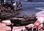 Image of establishment of beachhead Normandy France, 1944, second 31 stock footage video 65675050823