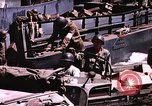 Image of establishment of beachhead Normandy France, 1944, second 34 stock footage video 65675050823