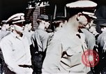 Image of USS Franklin Pacific Ocean, 1945, second 32 stock footage video 65675050827
