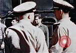 Image of USS Franklin Pacific Ocean, 1945, second 42 stock footage video 65675050827