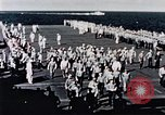 Image of USS Franklin Pacific Ocean, 1945, second 59 stock footage video 65675050827
