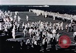 Image of USS Franklin Pacific Ocean, 1945, second 60 stock footage video 65675050827