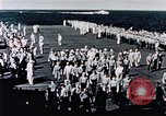 Image of USS Franklin Pacific Ocean, 1945, second 61 stock footage video 65675050827